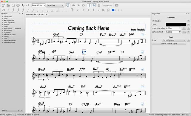 Cómo escribir un solo de jazz con Musescore